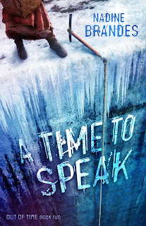 "The Artist Librarian reviews ""A Time to Speak"" by @NadineBrandes. A sequel that doubles the stakes, the action, the romance, and the cliffhanger ending! #ATime2Speak #OutOfTimeSeries"