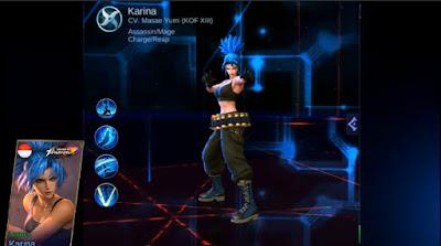 Skin Karina Leona (King of Fighter) Mobile Legends: Bang Bang