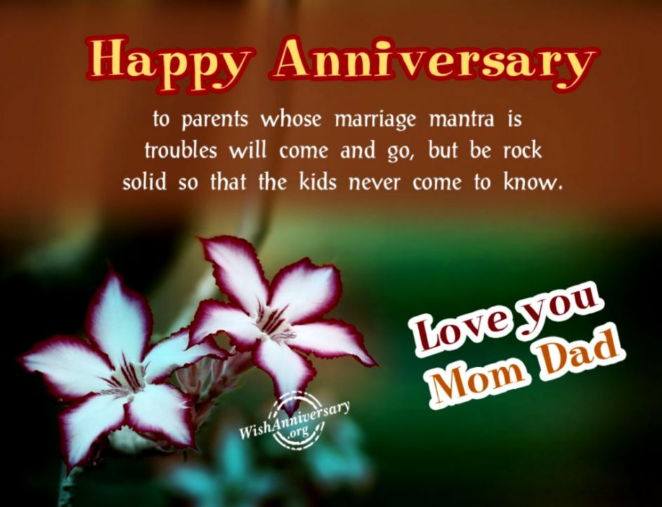 Anniversary Wishes Quotes For Parents Wallpapers Warrior