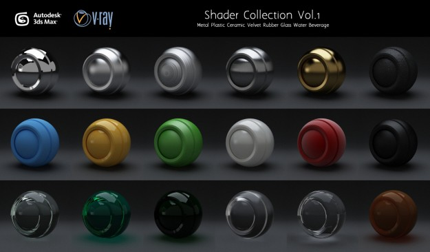 3ds max 2013 vray material library free download