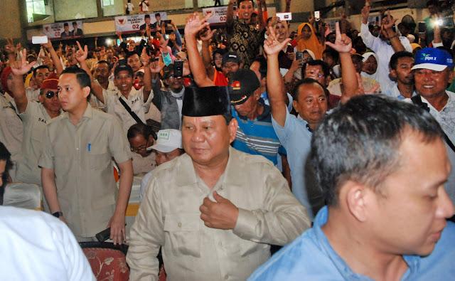 Prabowo Dinilai Memiliki Kesamaan Dengan Bung Karno