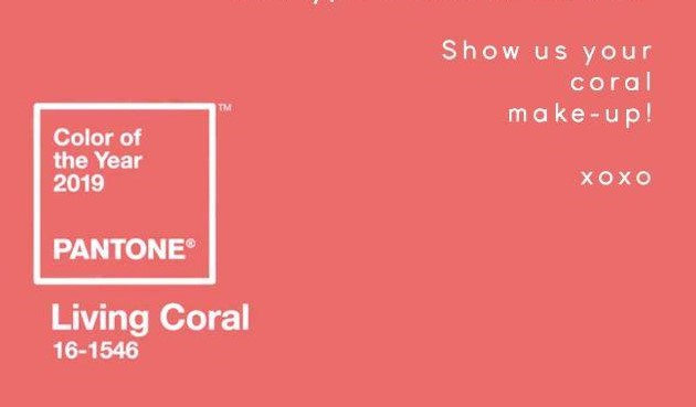 CORAL MAKEUP COLLABORATION