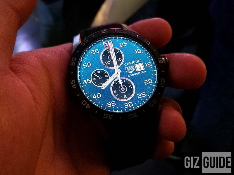 Swiss Smartwatch By TAG Heuer, Intel And Google