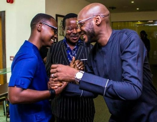 Image of king sunny Ade teju baby face and tuface idibia