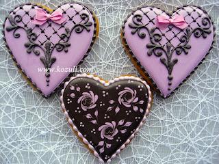 Имбирное печенье на День Святого Валентина, имбирное печенье валентинки