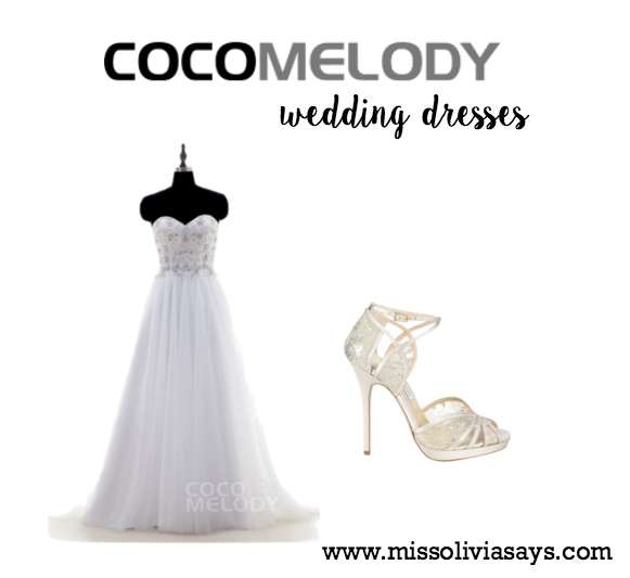 Cocomelody 2016 wedding dresses