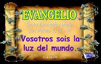 Resultado de imagen para En aquel tiempo, dijo Jesús a sus discípulos: «Vosotros sois la sal de la tierra.