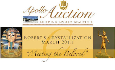 Fellowship of Friends Apollo Auction Oregon House, CA celebrating Robert Earl Burton's crystallization