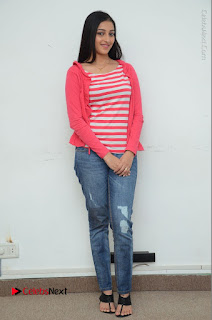 Telugu Actress Mouryani Latest Pos in Blue Denim Jeans  0232.JPG