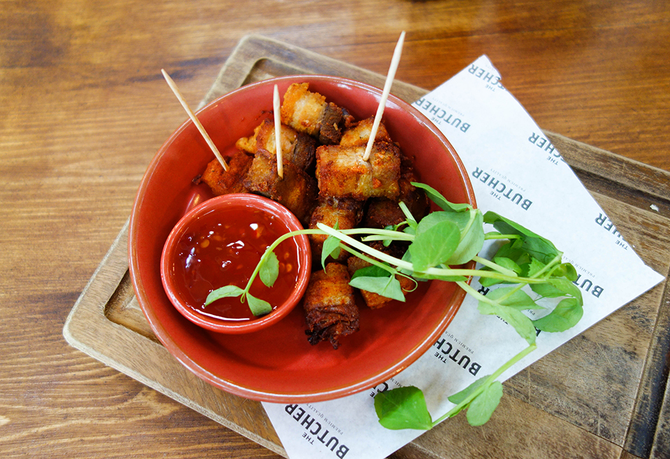 Crispy Pork Belly Bites