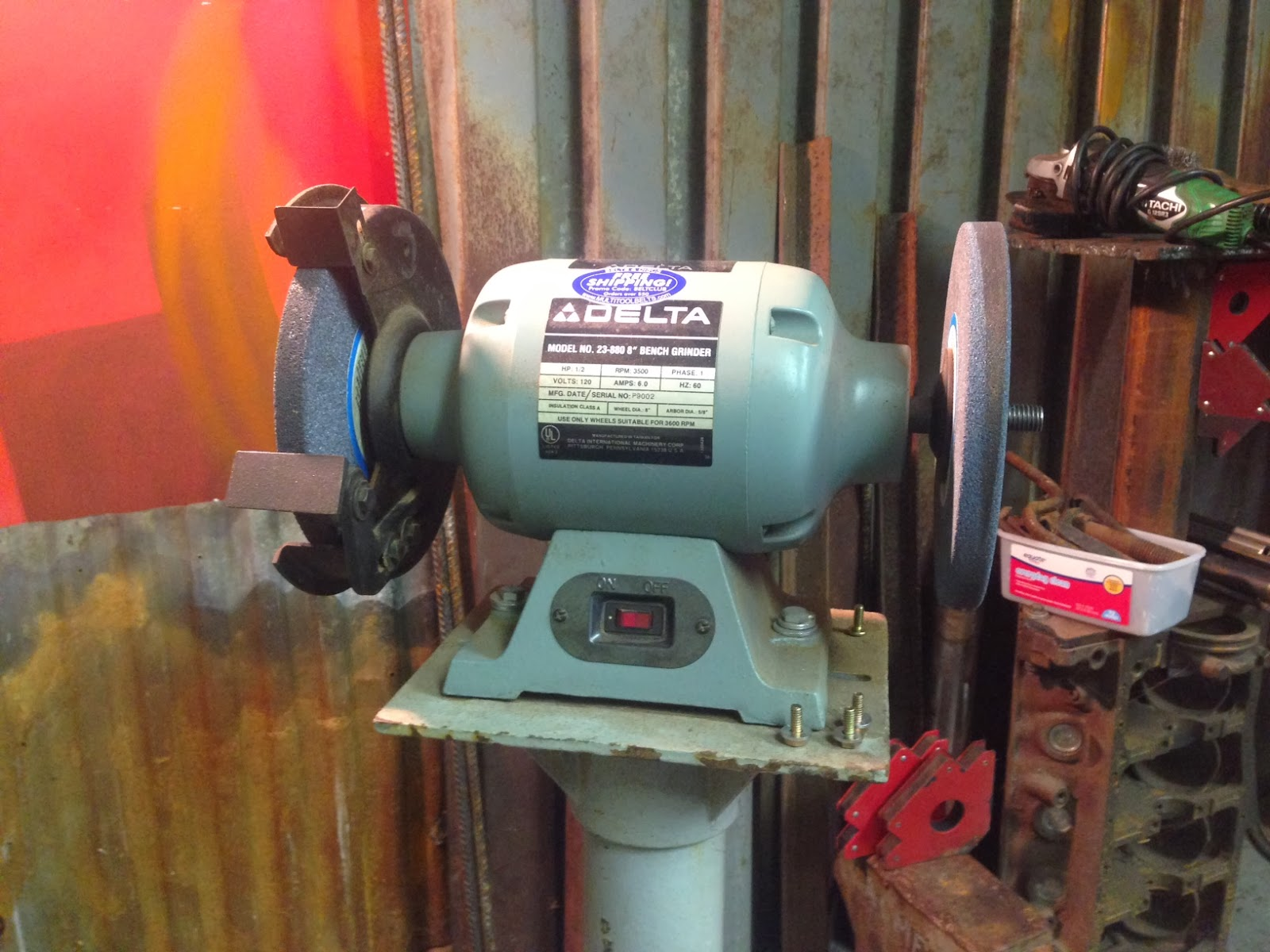Need A Bench Bench Grinder On Steroids Rusty Knuckles