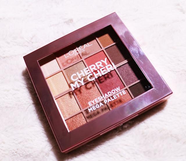 Pink Monday: L'oréal Cherry My Cheri Eyeshadow Mega Palette