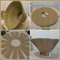 kufer - wicker paper DIY