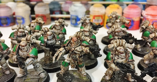 Death Guard Horus Heresy 30k Project: Part 2, Weathering Hieghts