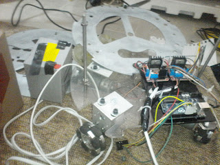assembling of robot with chassis.remote control robot using nrf.