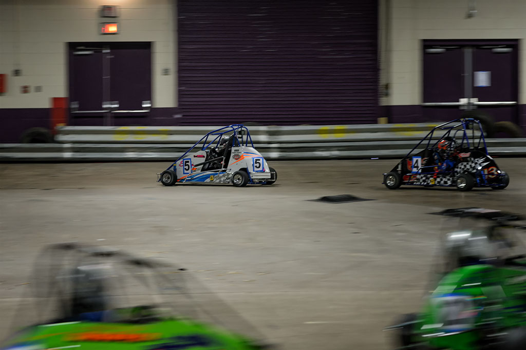 Quarter Midget Racing at Motorama Events