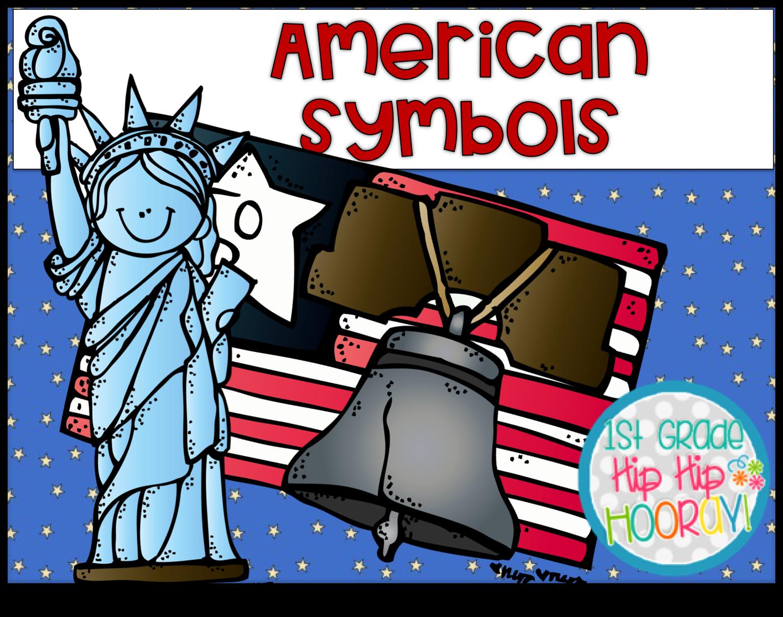 1st Grade Hip Hip Hooray American Symbols