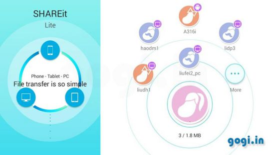 SHAREit 3.5.0.1144 Screenshot 2