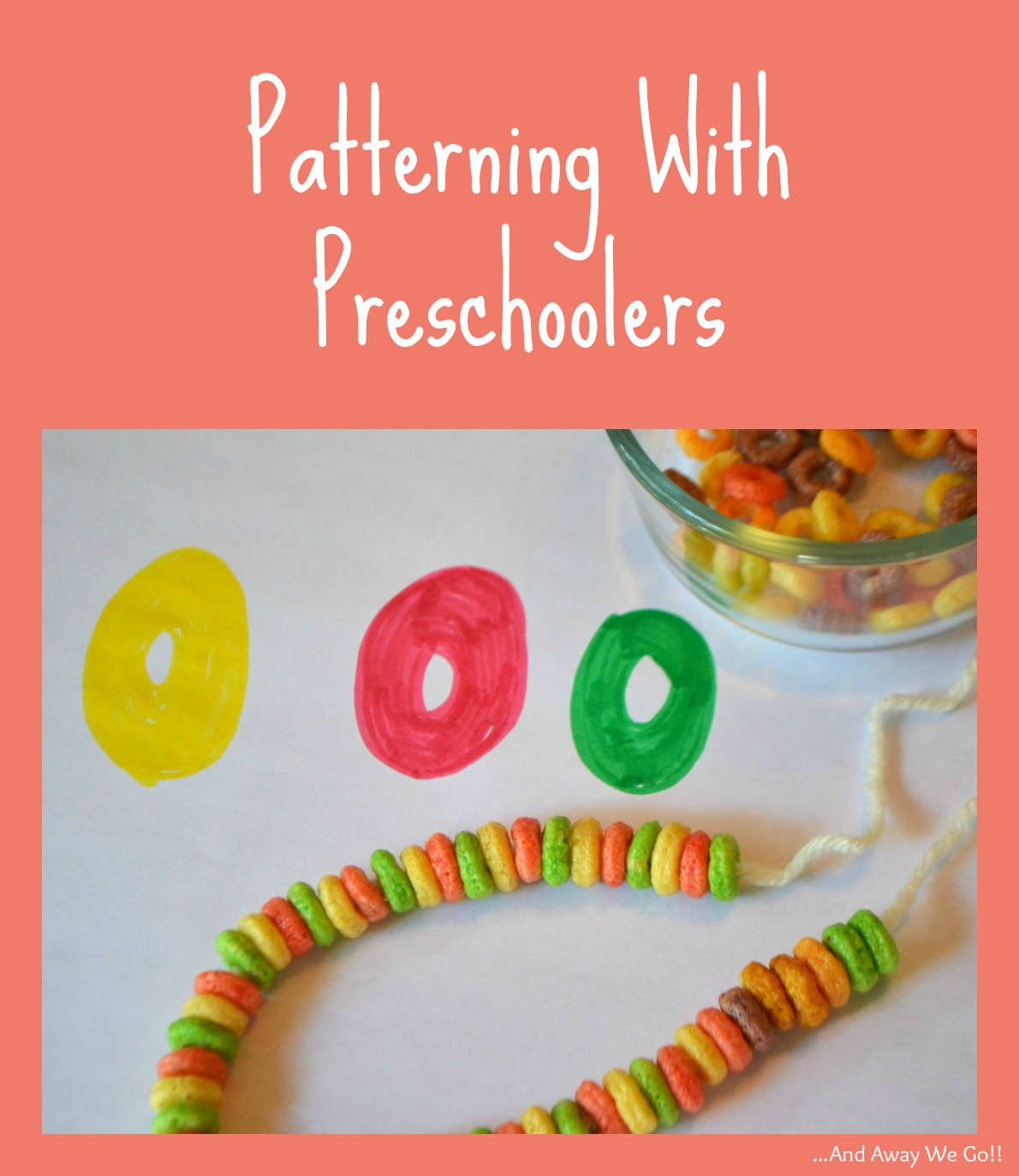 And Away We Go Patterning With Preschoolers
