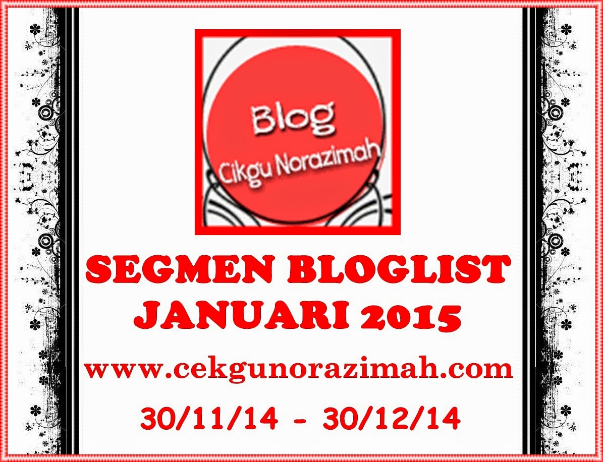 Segmen Bloglist Januari 2015 by CN