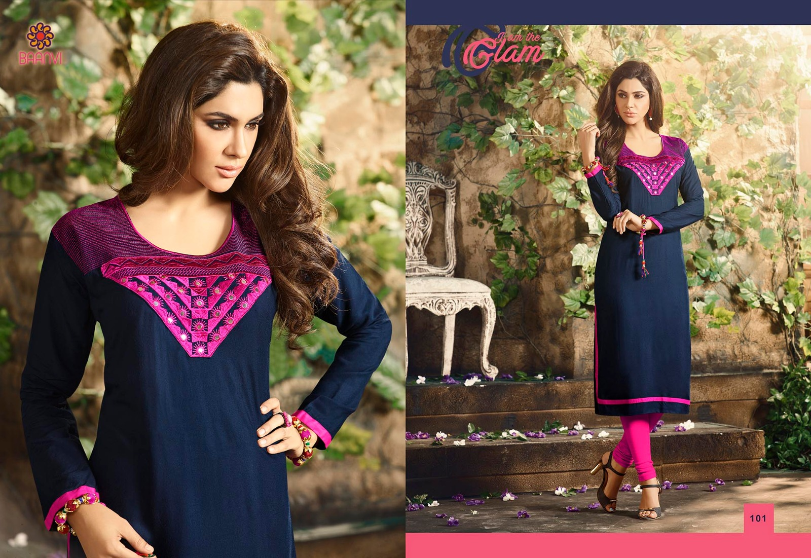 Miracle Vol 1 – Nevy Blue Color Collection Rayon Kurti