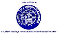 Southern Railways Retired Railway Staff Notification