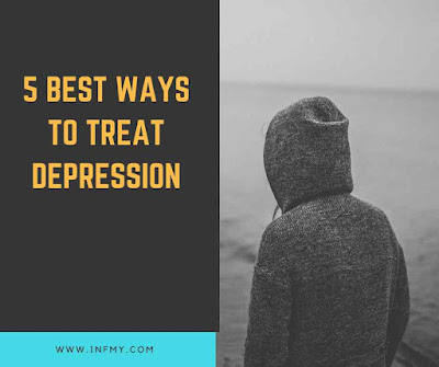 how to treat depression at home