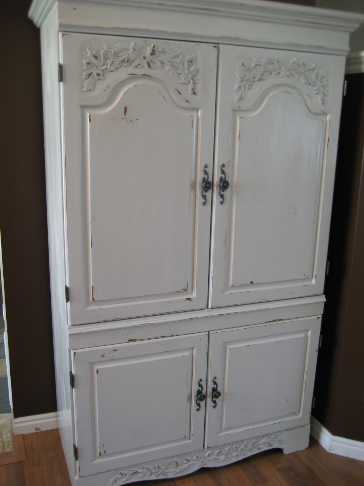 Paint Me Shabby Kitchen Pantry Cabinet