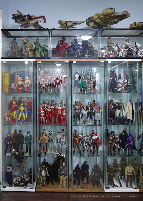 osw.zone Toy Haven 3 - Almost complete: Look at my new place :) Many action figures on display