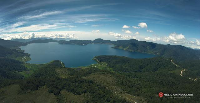 Foto Udara Pegunungan Arfak Papua Barat