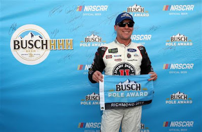 Kevin Harvick, driver of the #4 Jimmy John's New 9-Grain Wheat  Sub Ford - #NASCAR