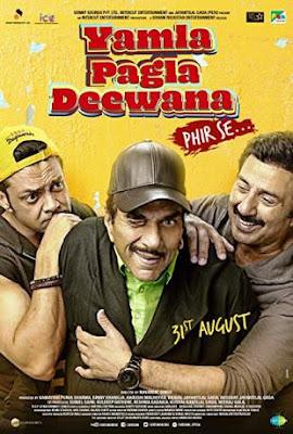 Download Yamla Pagla Deewana Phir Se 2018 Hindi Movie