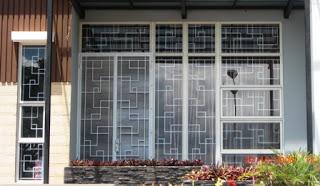 Desain Tralis Jendela Minimalis Besi Ulir Kekinian Recomended