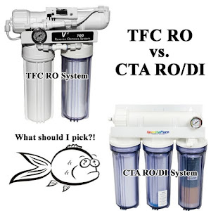 Which system should an aquarium keeper use, RO, DI or both