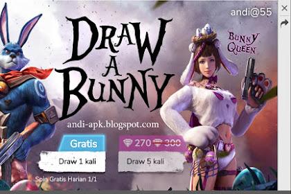 Gambar Bunny Free Fire - Contoh Cara Menggambar