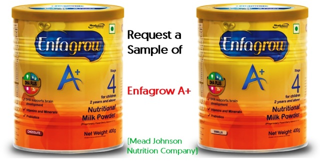 Get a Free Sample of Enfagrow A+ from world's no.1 brand