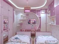 Desain Kamar Tidur Cantik Minimalis Dengan Paduan Warna yang Ngangenin