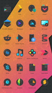 Crispy Dark - Icon Pack(SALE!) - 1