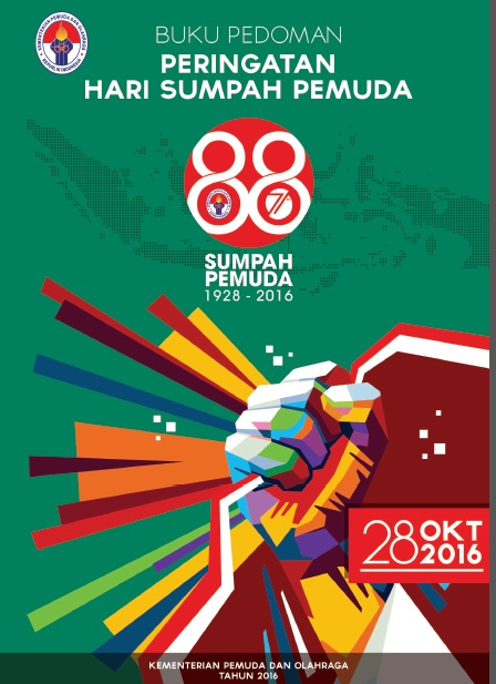 Tema, Logo, dan Doa HSP 2016, serta Buku Pedoman Peringatan Hari Sumpah Pemuda ke-88 Tahun 2016