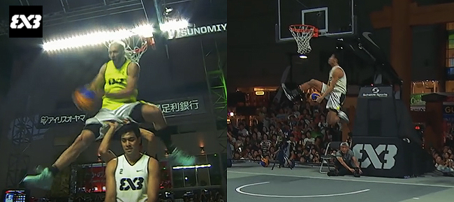 Jordan Kilganon & Rey Guevarra - DUNK Showdown - FIBA 3x3 Wolrd Tour (VIDEO)