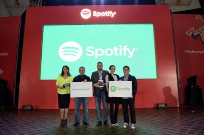 Layanan Musik Sporify Resmi Hadir di Indonesia