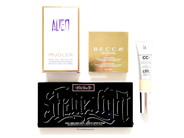 Sephora Makeup Haul, Kat Von D, Becca Flowerchild, IT Cosmetics CC Cream