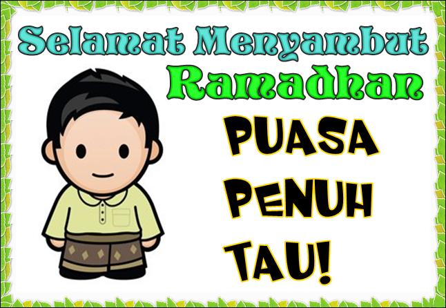 Gambar Animasi Kata Ucapan Selamat Puasa RamadhanKartun Lucu