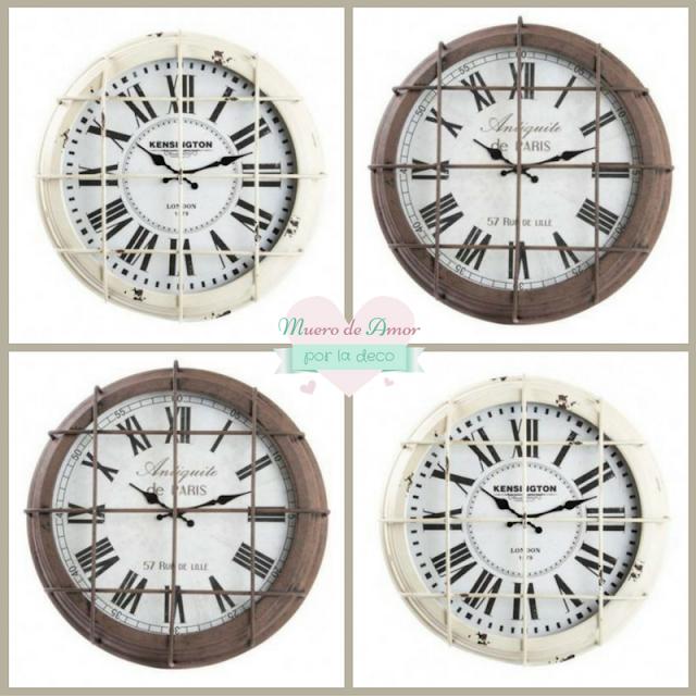 Cosas Bonitas: Reloj estilo industrial-2