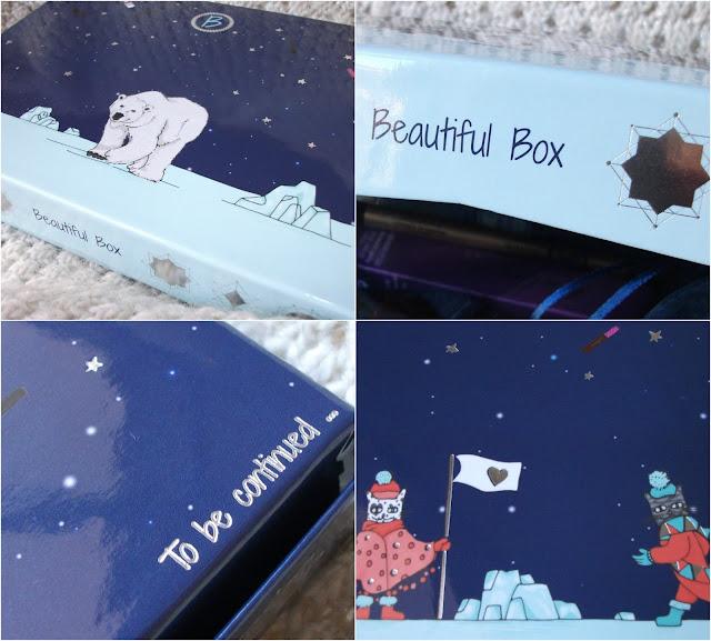 Dark Lips, February 2017 BeautifulBox by Aufeminin. Packaging details