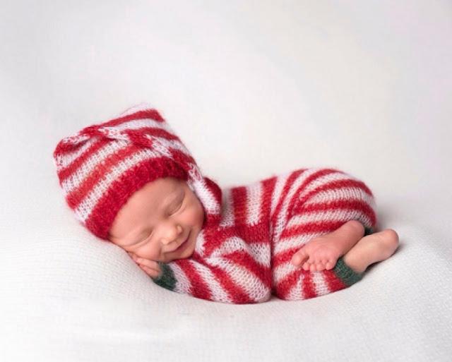 Baru Saja Lahir, Begini Cara Bayi Mungil Merayakan Natal Pertama Mereka