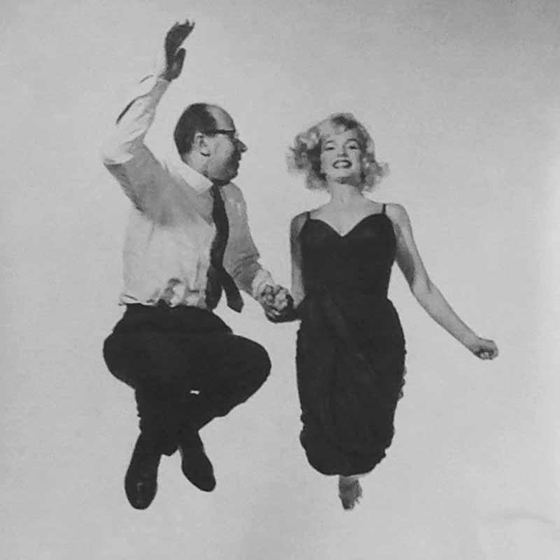 Philippe Halsman and Marilyn Monroe, Jeu de Paume Paris