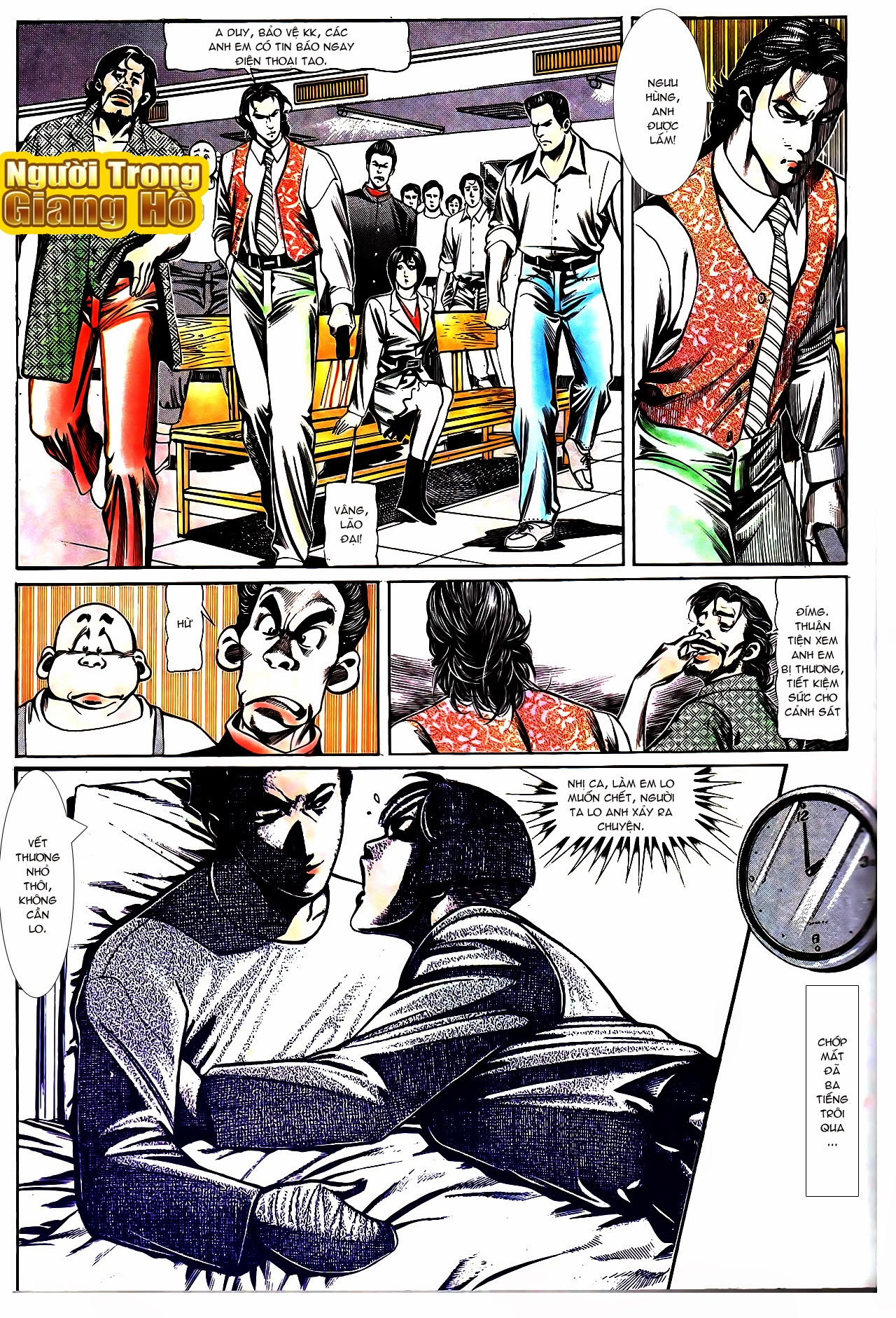 Người Trong Giang Hồ chapter 108: phong vũ cố nhân lai trang 10