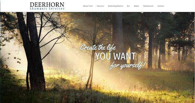 click here to visit Deerhorn Shamnic Services, Trent's websitre