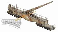 German Railway Gun 28cm K5(E) 'Leopold' + Artillery Crew